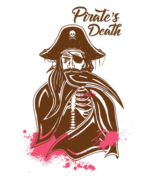 Pirate's death